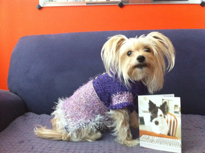 This is the ever lovely Tasha Bella modelling her new Bambina's Best creation!